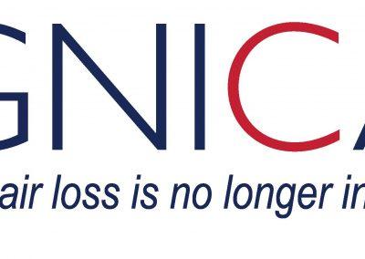DigniCap + Tag da perda de cabelo 2400 dpi